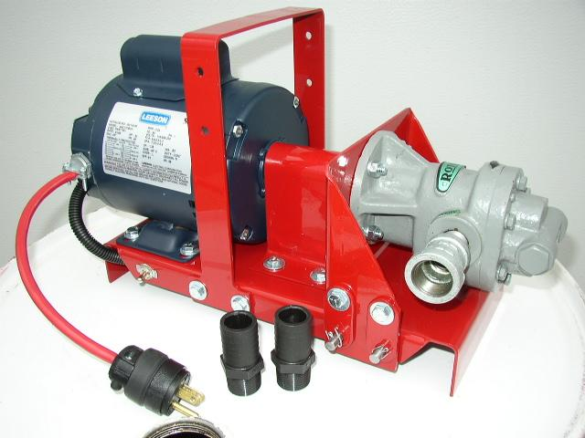 Waste oil transfer filtration pumps made in the usa our for Redline 15w40 diesel motor oil