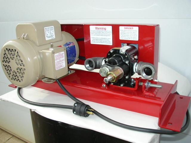 Waste Oil Pump Oil Transfer Pump Features