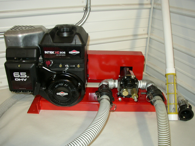 Gas Powered 25 Gpm Waste Oil Collection Pump